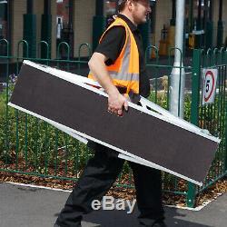 0.3m Wide HEAVY DUTY Aluminium Hop-Up Work Platform 400mm PRO Lightweight Stool