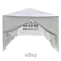 10'X20' White Heavy Duty Portable Garage Carport Car Shelter Outdoor Canopy Tent