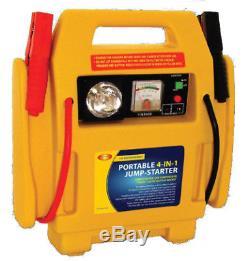12v Heavy Duty Portable Car Battery Jump Start Power Starter Booster Rescue Pack