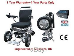 15kg HeavyDuty Front Wheel Drive Folding Electric Wheelchair Portable Powerchair