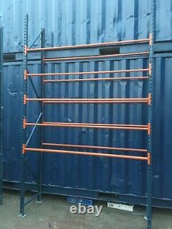1 Bay Pallet Racking, Tyre, Storage, Warehouse, Garage, Industrial Heavy Duty