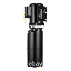 220V Portable Car Lift Hydraulic Power Lifting Unit Single Vehicle Hoist Pump