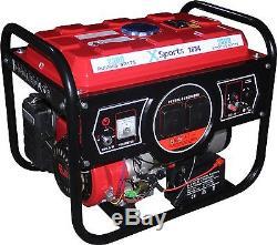 2.8 kVA Heavy Duty Electric Start Portable XSports Petrol Generator