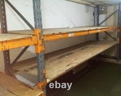 2 X Bays Dexion Speedlock Heavy Duty Warehouse Pallet Racking 1.6m X 5.1m X 1.2m
