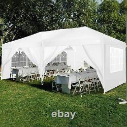3MX6M Gazebo Commercial-Grade Folding Big Tent, Heavy-Duty Canopy Market Stall UK