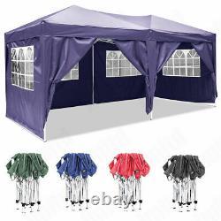 3Mx3M 3Mx6M Heavy Duty Pop Up Gazebo Waterproof Marquee Canopy Garden Party Tent