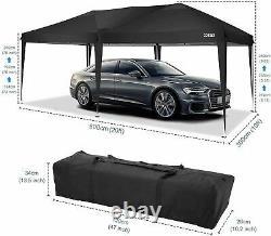 3Mx6M Waterproof Gazebo Pop Up Tent Marquee Canopy Outdoor Wedding Garden Party