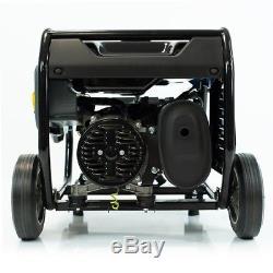 3.75 kVA Heavy Duty Portable Petrol Generator With Wheel Kit