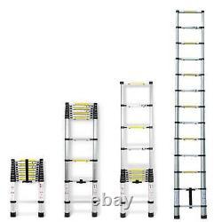 3.8M-6M Portable Heavy Duty Multi-Purpose Aluminium Telescopic Ladder Extendable
