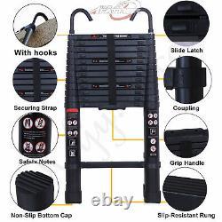 3 to 6m Portable Heavy Duty Multi-Purpose Aluminium Telescopic Ladder Extendable