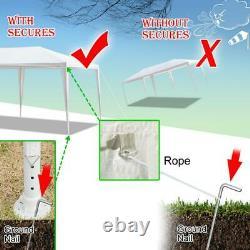 3 x 6M Heavy Duty Gazebo Waterproof Marquee Canopy Outdoor Garden Party Tent UK