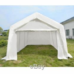 3m x 6m Portable Garage Carport Shelter Car Port Canopy Heavy Duty Frame Outdoor