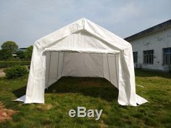 3m X 6m White Heavy Portable Garage Tent Shelter Carport ...
