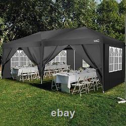 3x3M 3x6M Heavy Duty Gazebo Marquee Canopy Waterproof Garden Patio Party Tent UK
