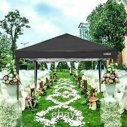 3x3M Gazebo Pop Up Tent Marquee Canopy Outdoor Wedding Garden Party Waterproof