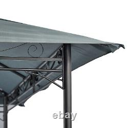 3x4M Garden Metal Gazebo Patio Party Tent Marquee Canopy Shelter Pavilion Grey