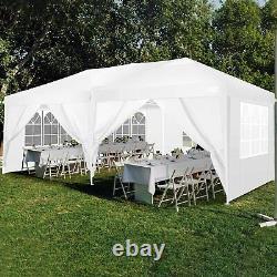 3x6M Gazebo Heavy Duty Marquee Waterproof Party Garden Patio Pop Up Tent withSides