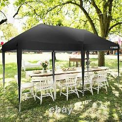 3x6M Gazebo Marquee Strong Waterproof Wedding Party Patio Tent Pop Up withSides UK