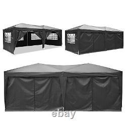 3x6 m Pop Up Gazebo Waterproof Marquee Canopy Outdoor Garden Party Wedding Tent