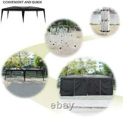 3x6m Garden Heavy Duty PopUp Gazebo Marquee Party Tent Wedding Canopy With Sandbag