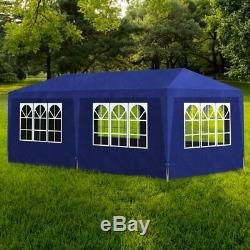 3x6m Gazebo Carport Garden Pop Up Waterproof Marquee Tent Portable Shed Shelter