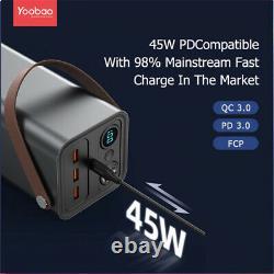42000 mAh 150W High Battery Capacity Power Bank Portable Generator UPS AC DC Out