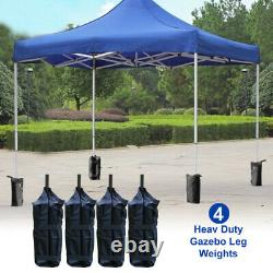 4pcs Gazebo Pole Foot Leg Sandbag Secure Weight Marquee Market Stall Sand Bags