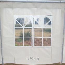 4x8M White Marquee Party Tent Garden Gazebo Canopy Portable Carport