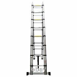 5M 2.5M Portable Heavy Duty Multi-Purpose Aluminium Telescopic Ladder Extendable