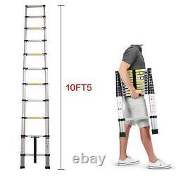 5M-6.2M Portable Heavy Duty Multi-Purpose Aluminium Telescopic Ladder Extendable