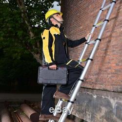 5M Portable Heavy Duty Multi-Purpose Aluminium Telescopic Ladder Extendable