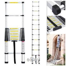 5.2M Heavy Duty Multi-Purpose Aluminum Telescopic Ladder Extendable Steps