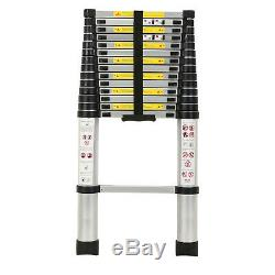 5.2M Portable Heavy Duty Multi-Purpose Aluminium Telescopic Extendable Ladder UK