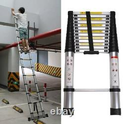 5 M Portable Heavy Duty Multi-Purpose Aluminium Telescopic Ladder Extendable