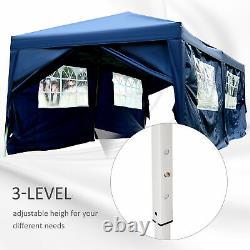 6m x 3m Garden Heavy Duty Pop Up Gazebo Marquee Party Tent Wedding Canopy New