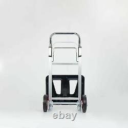 90kg Heavy Duty Folding Foldable Hand Truck Barrow Cart Wheel Trolley Load 198lb