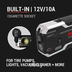 AUTOGEN 4000A Heavy Duty Truck Battery Booster Pack Jump Starter Box Portable