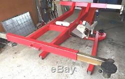 Afas Portable Mobile Full Height Garage Car Vehicle Lift Hoist 2000kg 2t