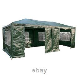 AirWave 6m x 3m Party Tent Gazebo FREE WINDBARS, Water Resistant, 6 Sides