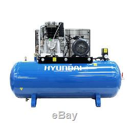Air Compressor Petrol 200L 3 Phase 4kW 5.5hp 16.5CFM industrial HEAVY DUTY