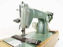 Alfa Portable Industrial Sewing Machine Heavy Duty Upholstery 6MM Leather