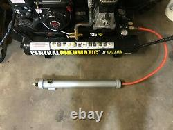 Anti ice nail gun air dryer, INLINE DESICCANT DRYER heavy duty high flow. 2L