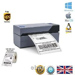 BEEPRT Heavy-Duty Direct Thermal Shipping Label Printer with 4x6 Labels