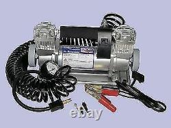 BRITPART Portable Air Compressor HEAVY DUTY Double Pump 150psi DA2392XS