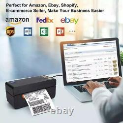 Beeprt Direct Thermal Label Printer Heavy-Duty with Bluetooth