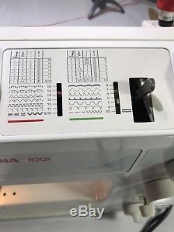 Bernina 1001 Domestic Heavy-duty Sewing Machine