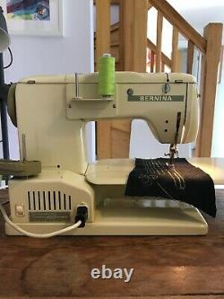 Bernina 730 Heavy Duty Sewing Machine With Foot Pedal, Lots Of Feet And Case