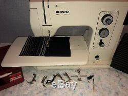 Bernina 801 Heavy Duty Sewing/embroidery Machine In Immaculate Condition21024346