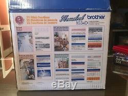 Brother 1034D Overlock Serger Machine Heavy Duty 1,300 Stitches/Min