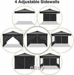 COBIZI Gazebo 3x3m withRemovable Sidewalls Waterproof, Festival Event Canopy Tent A